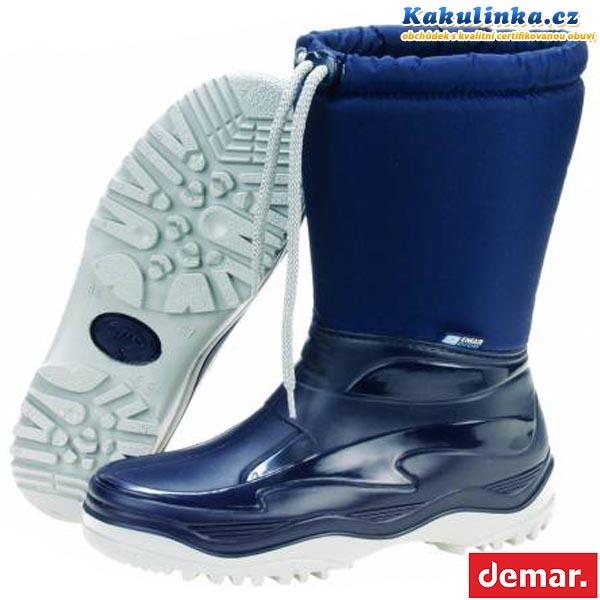 fb3f6d8ddc4 Zimní sněhule Demar PICO M (modré) - velikost 40 41   Kakulinka.cz